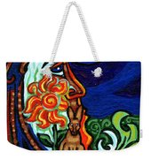 Moon In Tree Weekender Tote Bag