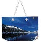 Moon - Lake Weekender Tote Bag