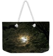 Moon Light With Clouds Weekender Tote Bag