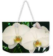 Moon Orchid Pair Weekender Tote Bag