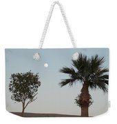 Moon Over Baja Desert Weekender Tote Bag
