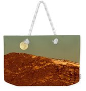 Moon Over Mount Ida Weekender Tote Bag