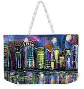 Moon Over Orlando Weekender Tote Bag