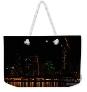 Moon Over San Diego Weekender Tote Bag