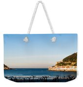 Moon Over The Bay Weekender Tote Bag