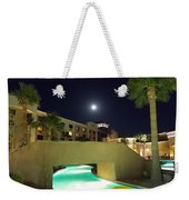 Moon Over The Casino Weekender Tote Bag