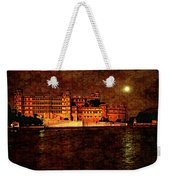 Moon Over Udaipur Painted Version Weekender Tote Bag