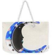 Moon Phase In Inverted Colors Weekender Tote Bag