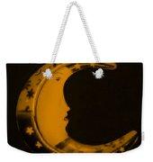Moon Phase In Orange Weekender Tote Bag