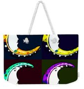 Moon Phase In Pf Quad Colors Weekender Tote Bag