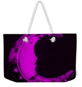 Moon Phase In Purple Weekender Tote Bag