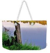 Moon River Weekender Tote Bag