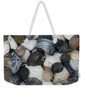 Moon Snails And Shells Still Life Weekender Tote Bag