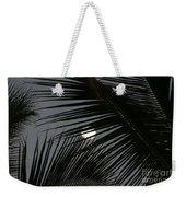 Moon  Through Palm Trees Weekender Tote Bag