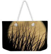 Moon Through The Palms Weekender Tote Bag