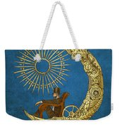 Moon Travel Weekender Tote Bag