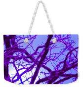 Moon Tree Purple Weekender Tote Bag
