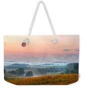 Moon Valley Morning Weekender Tote Bag