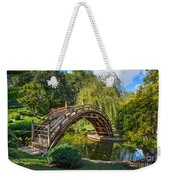 Moonbridge - The Beautifully Renovated Japanese Gardens At The Huntington Library. Weekender Tote Bag