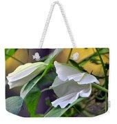 Moonflowers  Weekender Tote Bag