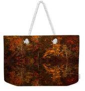 Moonlight Autumn Weekender Tote Bag