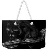 Moonlight Bandit Weekender Tote Bag