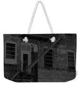 Moonlight Fire Escape Usa Near Infrared Weekender Tote Bag