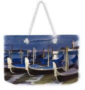 Moonlight Gondolas - Venice Weekender Tote Bag