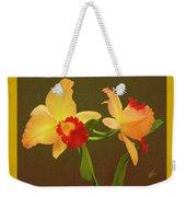 Moonlight Lady Orchid Weekender Tote Bag
