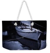 Moonlight Sail Weekender Tote Bag by Amy Weiss