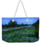 Moonlit Bluebonnets Weekender Tote Bag