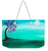 Moonlit Palm Weekender Tote Bag