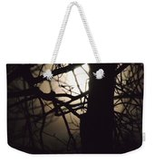 Moonlit Tree In The Forest Weekender Tote Bag