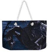 Moonlit Warrior Weekender Tote Bag