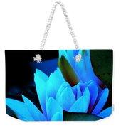 Moonlit Waterlilies Weekender Tote Bag