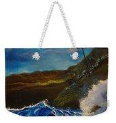 Moonlit Wave 11 Weekender Tote Bag
