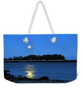Moonrise Acadia National Park Weekender Tote Bag