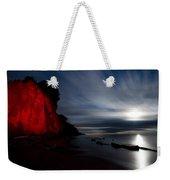 Moonrise At Clearville Beach Weekender Tote Bag