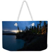 Moonrise At Wabasso Campground Weekender Tote Bag