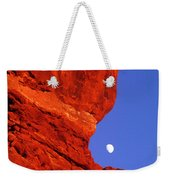 Moonrise Balanced Rock Arches National Park Utah Weekender Tote Bag