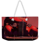 Moonrise Graphic Weekender Tote Bag