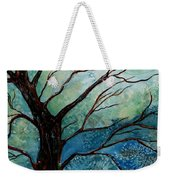 Moonrise In The Wild Night Weekender Tote Bag