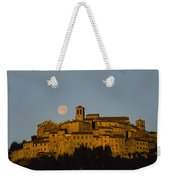 Moonrise Over Anghiarri Weekender Tote Bag