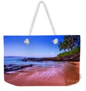 Moonrise Over Maui Weekender Tote Bag