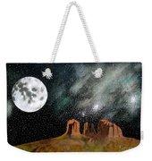 Moonrise Over Sedona Weekender Tote Bag