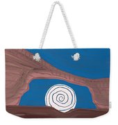Moonscape Original Painting Weekender Tote Bag