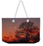 Moonset Weekender Tote Bag