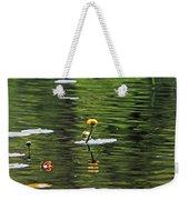 Moore State Park Lily Pond 2 Weekender Tote Bag