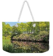 Moore State Park Water Reflections Weekender Tote Bag
