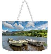 Moored Boats  Weekender Tote Bag by Adrian Evans